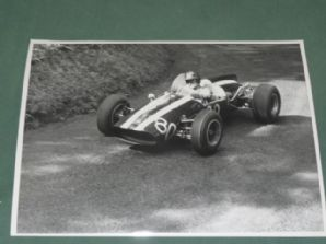 "COOPER Daimler V8 Arthur Owen. Shelsley Walsh. 10x8"" photo"